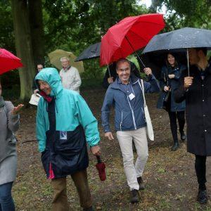 Generationen-Spaziergang In Neubrandenburg Am 26. August. 2020 Im Kulturpark